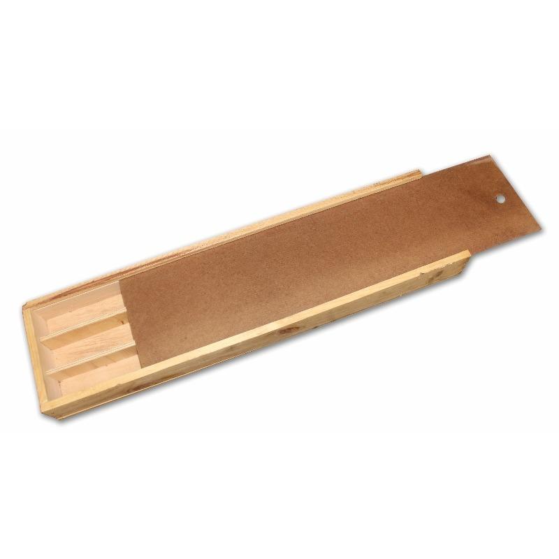 Caja Portatestigo de Madera