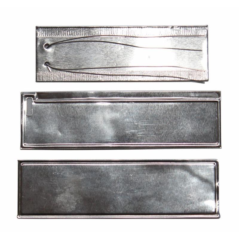 Etiqueta de Aluminio